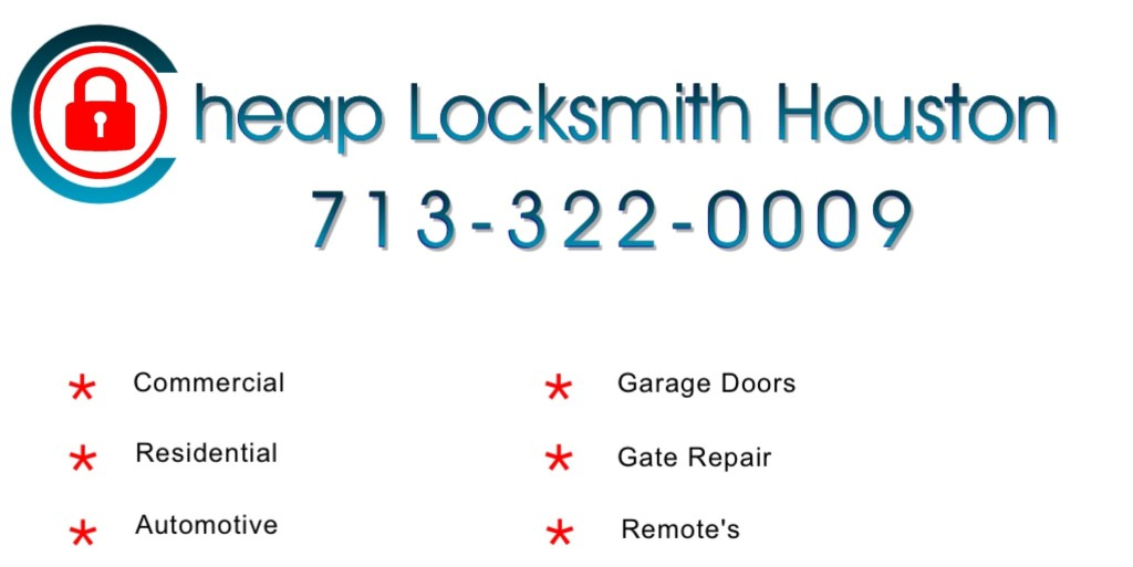 Cheap locksmith houstonlocksmith humble tx cheap for Garage door repair dickinson tx